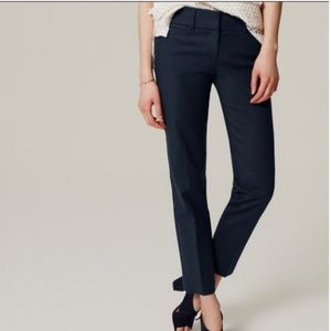 LOFT Riviera Cropped Pants in Marisa fit GRAY